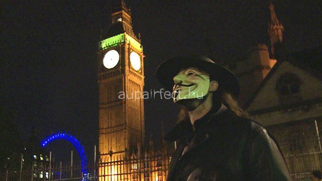 Guy Fawkes Nigh - Remembrance of the 5th of November