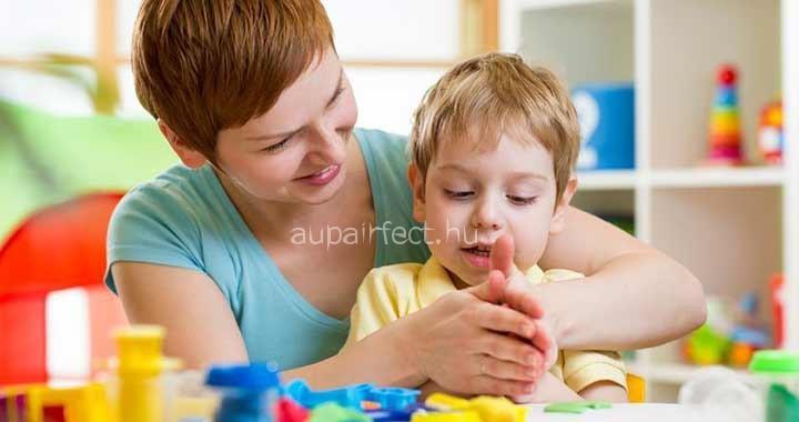 Az au pair feladatai egy családnál