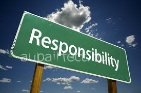 Start being more responsible